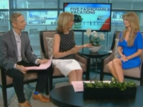 "WFAA Good Morning Texas: ""Top 5 Fashionable & Fun Vacation Destinations"""